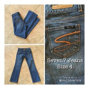 Seven7 Jeans Size 4 (Altered Length)